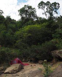 Ein traumhafter Lagerplatz direkt am Fluss